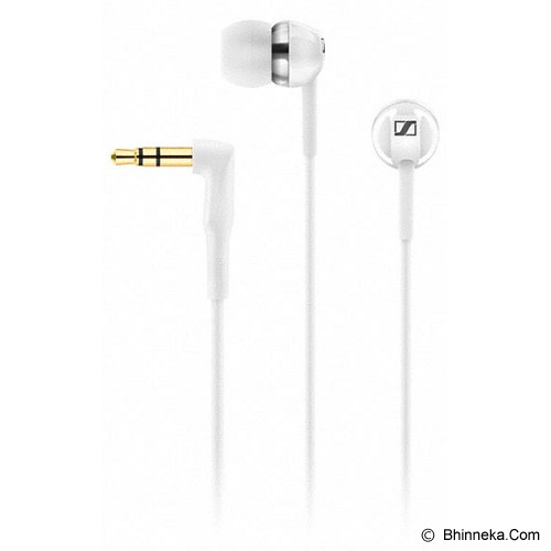 SENNHEISER Earphone [CX 1.00] - White - Earphone Ear Monitor / Iem